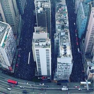 大陸人の反応:200万人越えのデモ