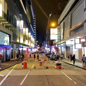 香港の混乱に巻き込まれて…