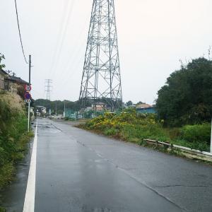 雨模様になった月曜(14日)の散歩&ナイターラン(連休最終日)〜♪