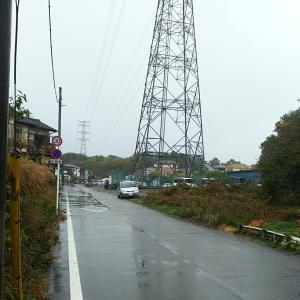 雨模様も続いた土曜(23日)の散歩&ナイターラン~♪