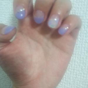 ☆紫陽花ネイル☆
