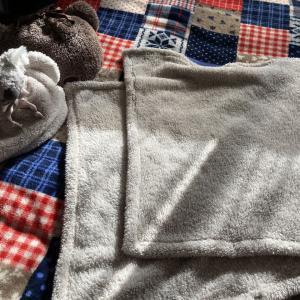 GUのもこもこ毛布