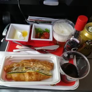 8/15〜8/19 ソウルに行ってきました。今回の往復機内食