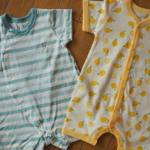 西松屋で子供たちの夏服を購入。