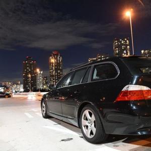 サヨナラは突然に… 冠水で全損!? まゆ毛くんとのお別れ… BMW E61 525i