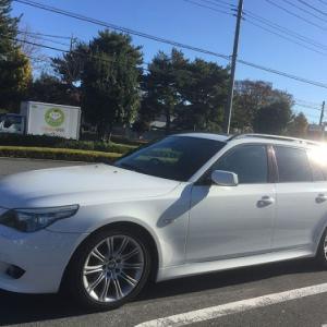 魂の入った日… まゆ毛くんの遺品iPodインターフェースを取付! BMW E61 525i