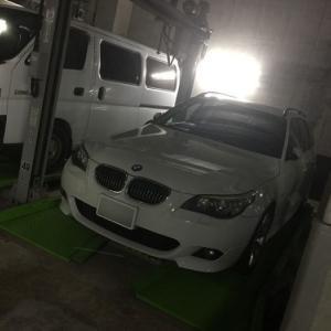 きこえるか… きこえるだろ… セキュリティーアラームの誤報!? BMW E61 525i