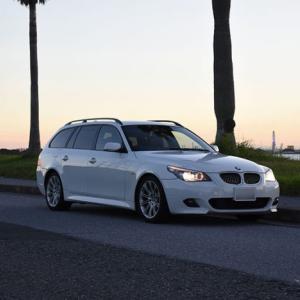 気になる出張査定後の車の行方… 2代目まゆ毛くん(シロまゆ)のその後 BMW E61 525i