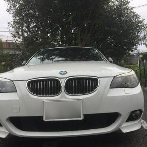 ヘッドライトがオッドアイ!? ヘッドライト交換履歴は事故車になるのか? BMW E61 525i