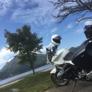 赤城山の次は榛名山でしょ!?1ヶ月ぶりにバイクに乗ったら既に秋から冬模様!? BMW R1200R(2010)