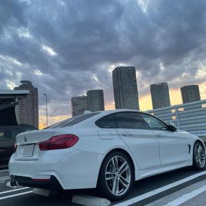 今更ですが… 大型連休中(GW)のドライブは事故に注意DEATHね… BMW F36 420i