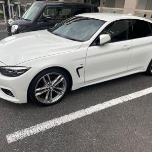 鳥害で駐車場位置を変えてもらった話… BMW F36 420i