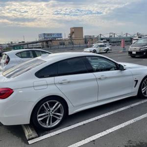 そして振り出しに戻る… やっぱりBMWの塗装は飛び石に弱いのか? BMW F36 420i
