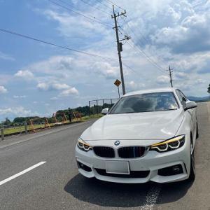 4連休何してた?ビーフラインを車で快走し久しぶりにお蕎麦食べて帰って来た話… BMW F36 420i