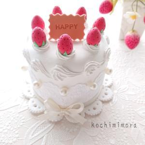 シンプルな苺のケーキ