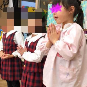 幼稚園の誕生会へ