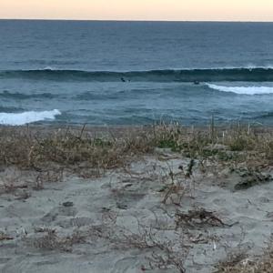 早朝サーフィン 最短30分でも連日やりまくり