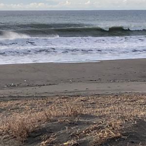 暖かい早朝サーフィン気温10度越え