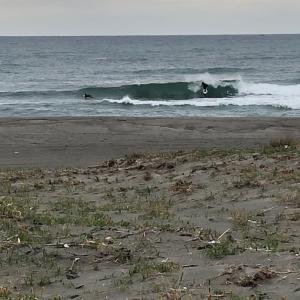 月曜日早朝からスッキリサーフィン
