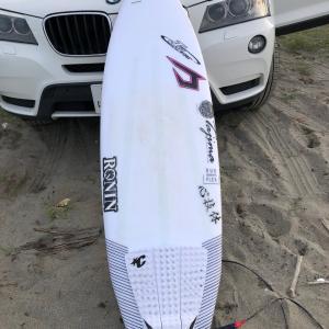 早朝サーフィン小波対策