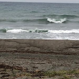 サイズアップ 水曜日早朝サーフィン