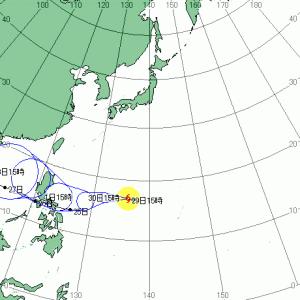 台風19号コーニー