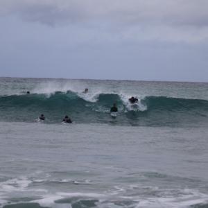 1月24日 日曜日早朝サーフィンセッション