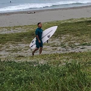朝活 水曜日 サーフィン