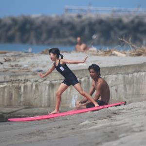 夏休み 夏本番 kidsサーフィン体験教室