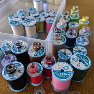 ミシン糸の整理