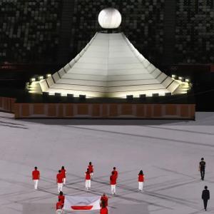 とーきょーオリンピックの開会式