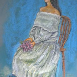 白いドレスのR嬢