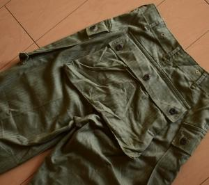 USMC M-44(P-44) HBT Trousers(USMCモンキーパンツ)