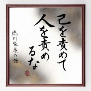 徳川家康の名言
