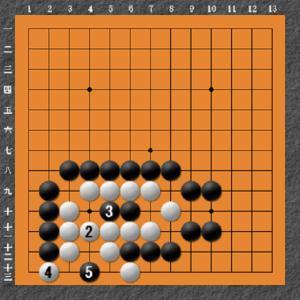 囲碁(死活問題3)解答