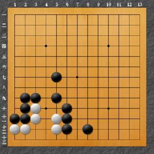 囲碁(死活問題4)