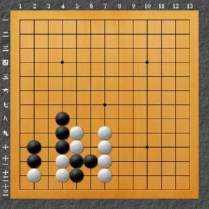 囲碁手筋問題 9