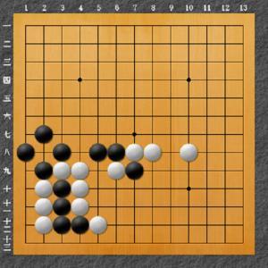 囲碁手筋問題 10