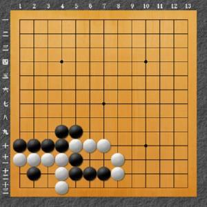 囲碁手筋問題 11