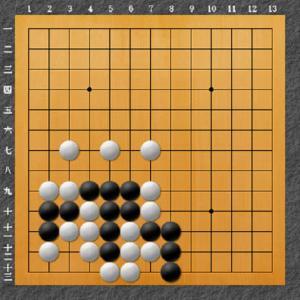 囲碁手筋問題 13