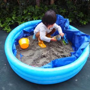 緊急事態宣言中のおうち遊びのナイスアイデア!自宅の庭に砂場をつくったのだけど…。