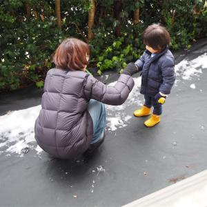 雪で思い出す妻との出会い