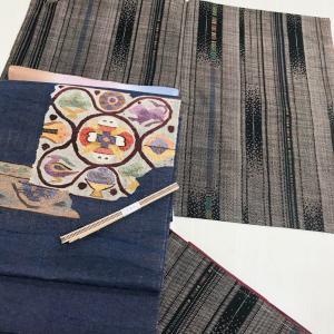 本番大島紬とすくい織名古屋帯