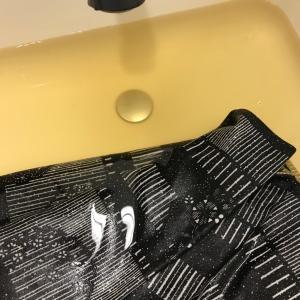 洗える帯を洗ってみた