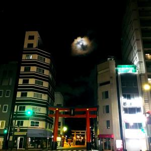 すごい写真❤️もうすぐ満月