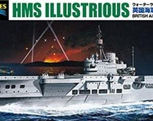 限定 英国海軍 航空母艦 イラストリアス ベンガジ攻撃作戦