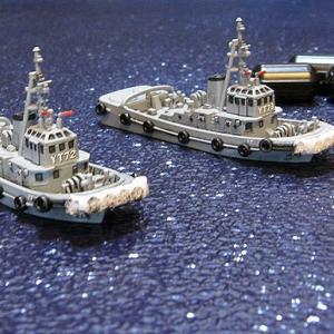 「海上自衛隊 YT58号260t型曳船」完成しました