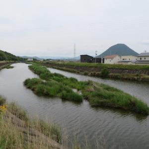 大束川と古墳