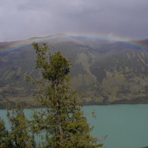 美しいカナス湖(2003年北新疆大名旅行便乗ツアー)