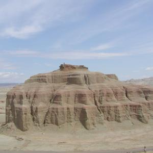 魔鬼城(2003年北新疆大名旅行便乗ツアー)